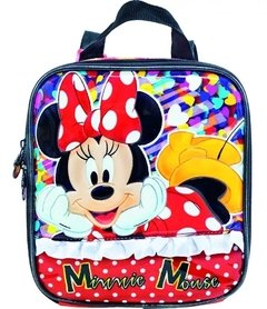 Imagem do Kit Escolar Infantil mochilete + lancheira + estojo - Minnie Mouse
