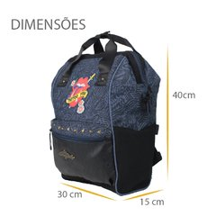 mochila the rolling stones  pacific 7492528 - comprar online