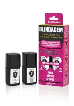 Blindagem - Base Fixadora + Top Coat (Extra Brilho)