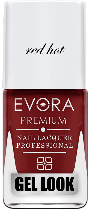 ESMALTE EVORA PREMIUM RED HOT