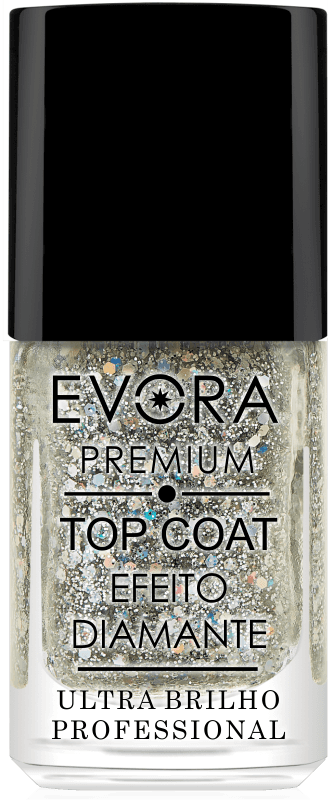 TOP COAT - EFEITO DIAMANTE