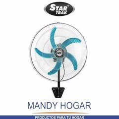 Ventilador Star Trak 18 Pie Y Pared 2 En 1 Mandy Hogar - Mandy Hogar
