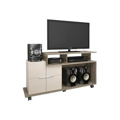 Rack Mueble Mesa Tv Slim Lcd Led Audio Home Sena Mandy Hogar