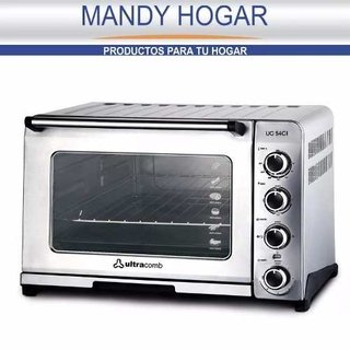 Horno Electrico Ultracomb Uc-54ci Acero Inox 54lts 1800w - comprar online