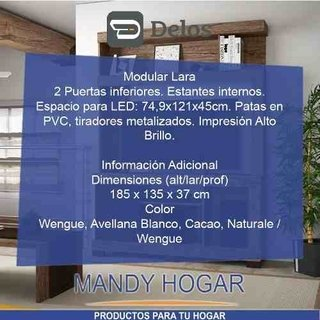 Modular Rack Mesa Tv-lcd-led 32 40 42 50 Home Mandy Hogar en internet