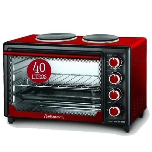 Horno Ultracomb 40 Lts Doble Anafe Uc40ac + Cuotas + Envio