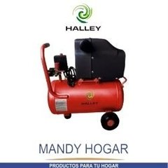 Compresor 50 Litros 2,5 Hp Doble Salida Halley Mandy Hogar en internet