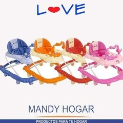Andador Bebe Musical Regulable Love 729 Mandy Hogar en internet