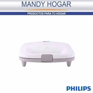 Sandwichera Philips Hd2393 Antiadherente 820 W Mandy Hogar - Mandy Hogar