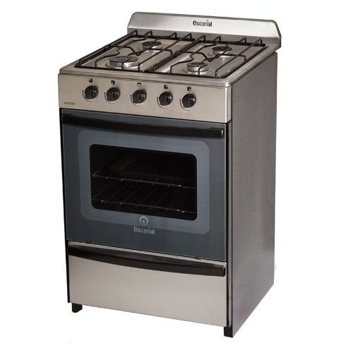 Cocina Escorial Master Gas Natural Acero Inoxidable
