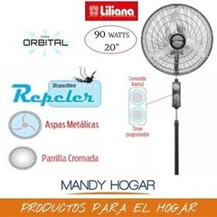 Ventilador De Pie Orbital 20  Liliana Vptcm2016 Repeler Off - Mandy Hogar