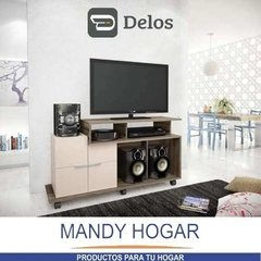 Rack Mueble Mesa Tv Slim Lcd Led Audio Home Sena Mandy Hogar en internet