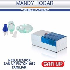Nebulizador San Up Piston 3050 Familiar Sidestream® Ampolla - comprar online