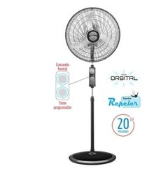 Ventilador De Pie Orbital 20  Liliana Vptcm2016 Repeler Off