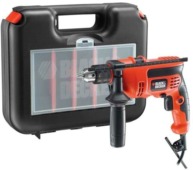 Taladro Black & Decker  TM650K 13mm c/Percutor  2800 RPM - TM650K