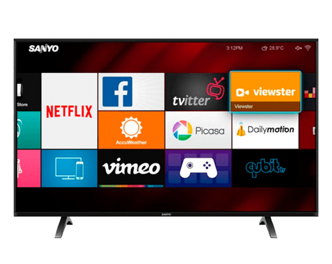smart tv sanyo lce43if26
