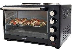 Horno Eléctrico Kanji Home 60 Lts Grill 2 Anafes