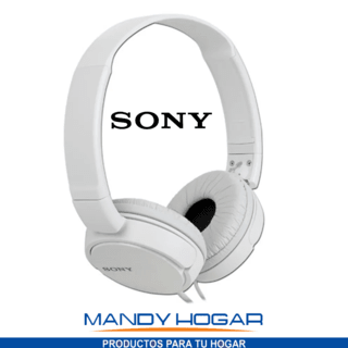 Auriculares 3.5 Mm Sony Plegables Super Bass Mdr-zx110 - comprar online