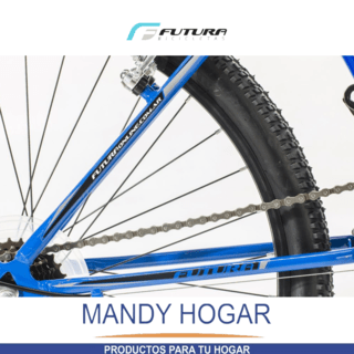 Bicicleta Futura Mountain Bike Rod 24 21 Vel. Mandy Hogar en internet