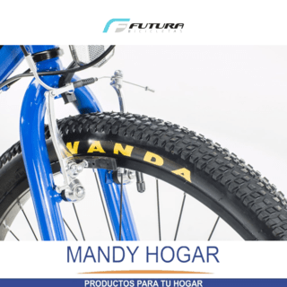 Bicicleta Futura Mountain Bike Rod 24 21 Vel. Mandy Hogar - Mandy Hogar