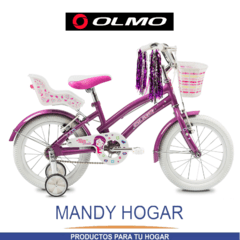 Bicicleta Olmo Rod.16 Tiny Friends - Mandy Hogar