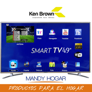 Smart Tv 49 Ken Brown Kb 2280 Wifi Full Hd Hdmi X3 Usb Tda - comprar online