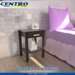 MESA DE LUZ YOUNG CENTRO ESTANT MLS x2 MANDY HOGAR en internet