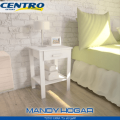 MESA DE LUZ YOUNG CENTRO ESTANT MLS MANDY HOGAR - Mandy Hogar