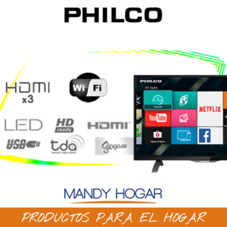 Smart Tv Led 32 Philco Pld3226hi Netflix Wifi MandyHogar - comprar online