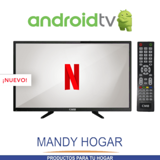 Smart Tv 32 Cmb Led Android Hd Hdmi Usb Tda Vga Mandy Hogar - comprar online