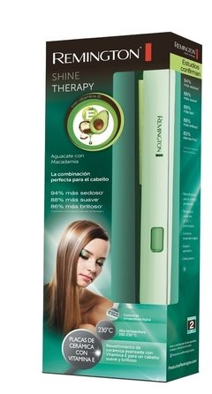 Planchita Remington S9960 Alisador Ceramica Pantalla Digital - Mandy Hogar
