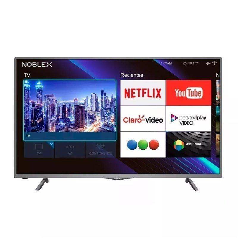 Smart Tv Noblex 50 Full Hd Ea50x6100 Netflix - Mandy Hogar