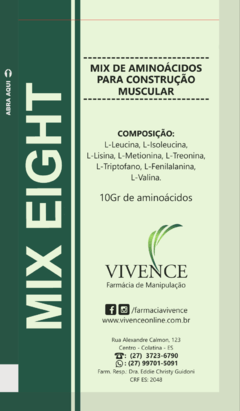 MIX EIGHT 10 GR - Mix de Aminoácidos