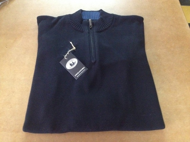 Remera polo con cierre - Black Fleece Sweaters