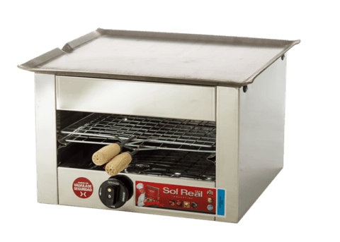 Carlitera Simple Sol Real Acero Inox. Gev