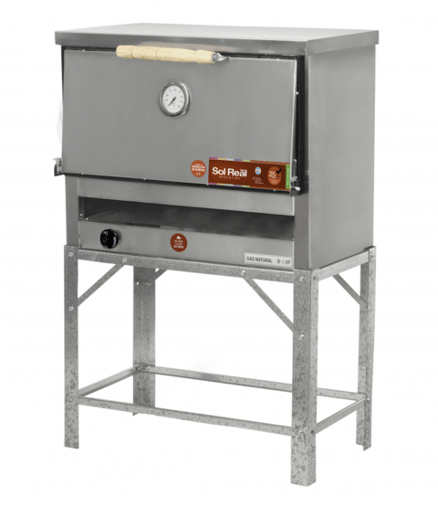 Horno Pizzero Sol Real Gauchito 6 Moldes Gev