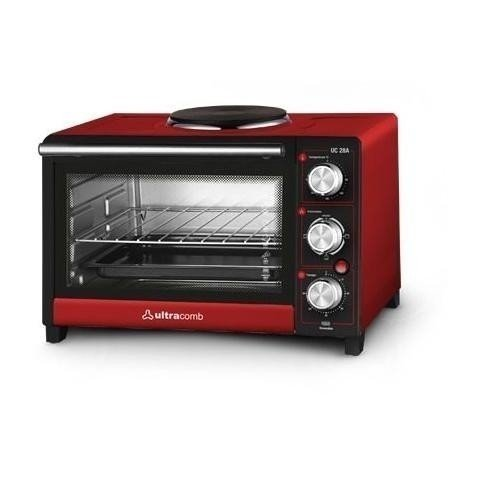 HORNO ELECTRICO ULTRACOMB C/ANAFE 28 LTS.