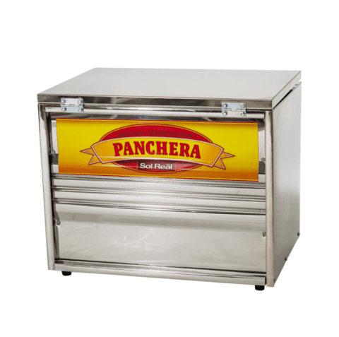 Panchera Sol Real Chica Acero Inox.