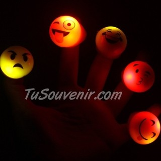 Anillo Emoticon Emoji Luminoso Led - comprar online