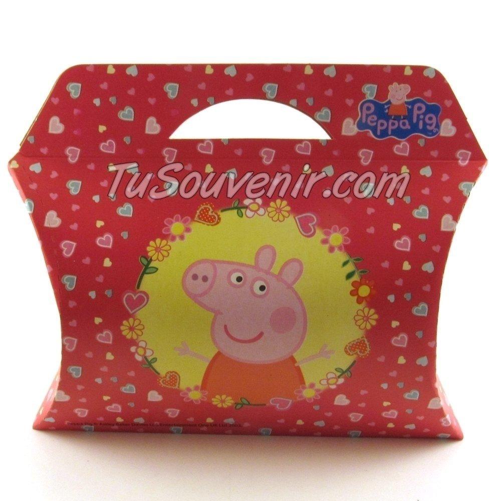 e7590f2d2 Cajita De Carton Peppa Pig Ideal Para Souvenirs, Regaleria Y Packaging