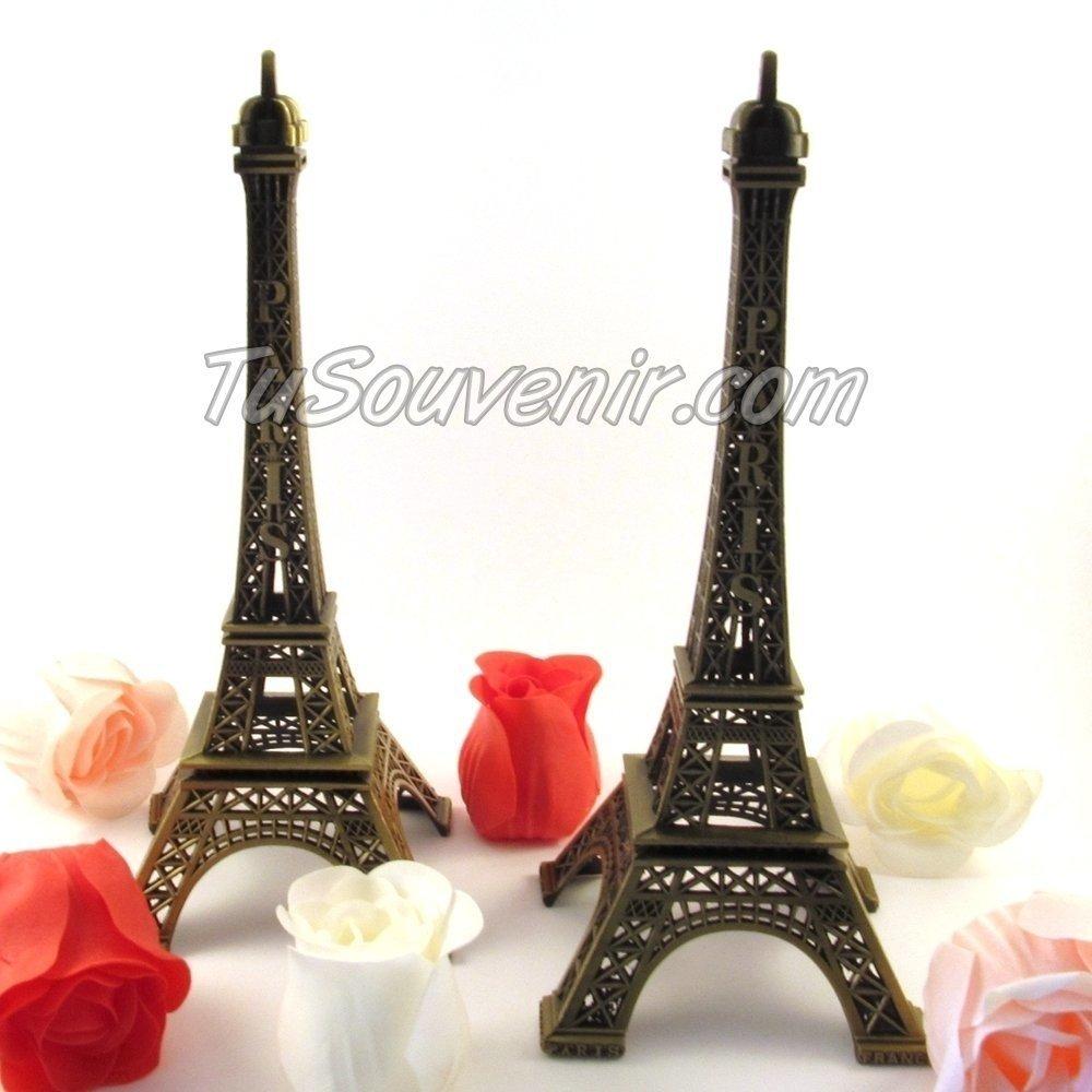 Centro De Mesa Torre Eiffel De 25 Cm