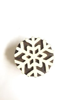 Sello Block Print Nieve en internet