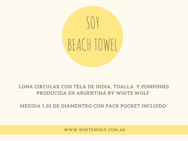 Beach Towel Blanco & Rojo en internet