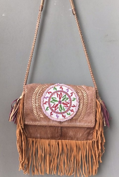 Leather Bag Krishna - comprar online