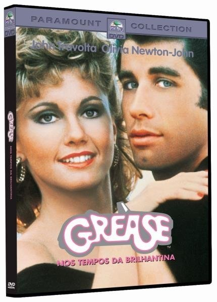 DVD Grease -  John Travolta Olivia Newton-John