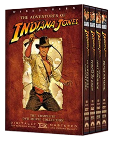 Box DVD trilogia As aventuras de Indiana Jones