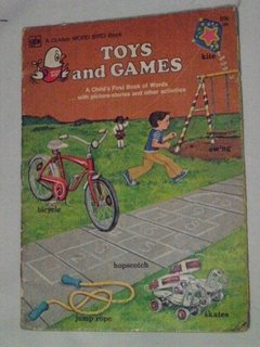 Toys and Games (a Golden Word Bird Book)
