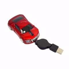 Mini Mouse Optico Carrinho Com Cabo Retratil USB 1200dpi