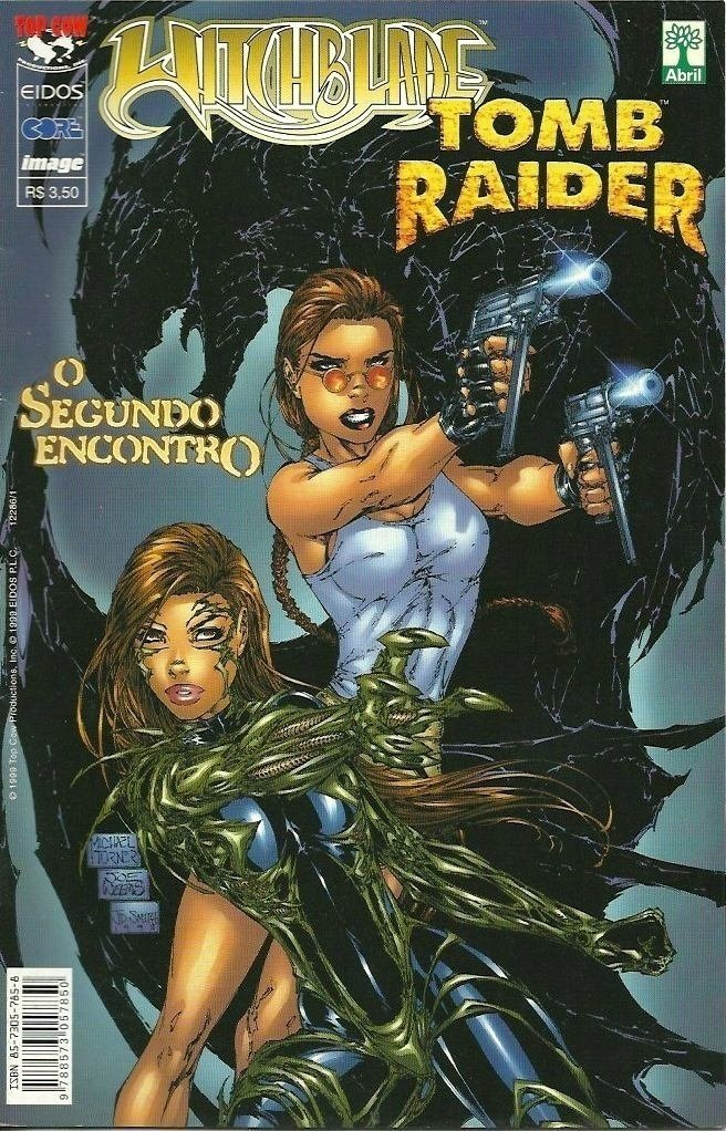 Witchblade Tomb Rader - o segundo encontro