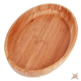 Gamela Oval Bamboo